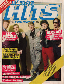 Smash Hits, October 4, 1979 - p.01 Squeeze cover