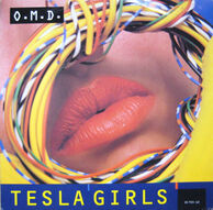 Tesla Girls 1984 UK 12in first issue front
