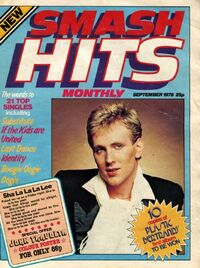 1978-09 Smash Hits 1 cover first issue