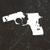 Broken pistol