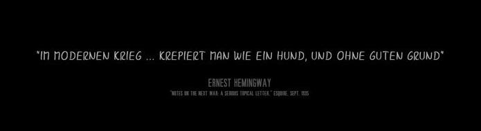 HemingwaySpruch