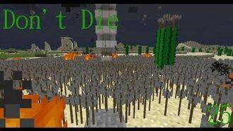 Don't Die Minecraft 25 A Brave Hero!