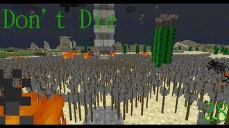 Don't Die Minecraft 28 First Mob Fight!