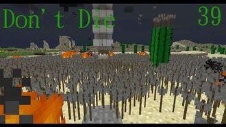 Don't Die Minecraft 39 Powder Blue Stuff!