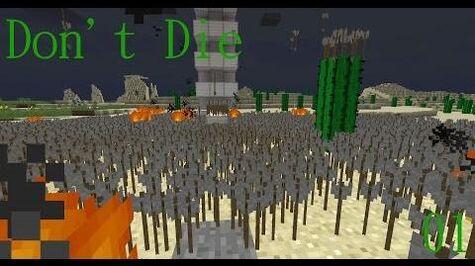 Don't Die Minecraft 1 Achievement Get! Raining Leather!