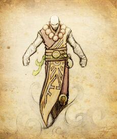Dnd character monk by regocreations-d355rzz