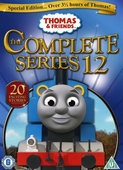 Thomas and Friends DVD Cover - Series 12