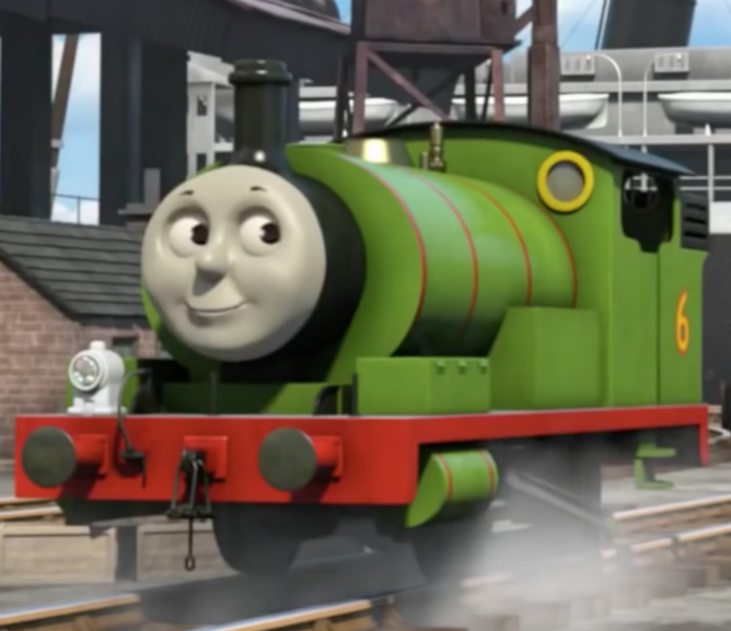 Percy Is A Cheeky Green Saddle Tank Engine Who Was Brought To Sodor Help Run The Railway During Big Engines Strike His Favourite Job Deliver