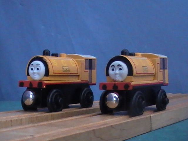 Bill And Ben Thomas And Friends Wooden Railway Crew Wiki Fandom