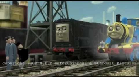 Thomas and the Stinky Cheese CGI Test