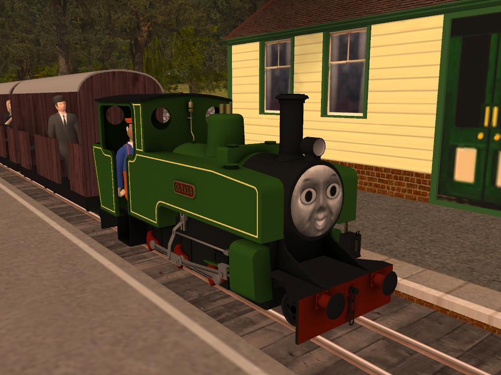 Thomas and olivia | Thomas & Friends C G I Series Wiki | FANDOM