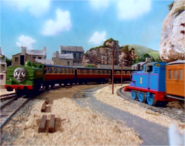 Duck and Thomas at work