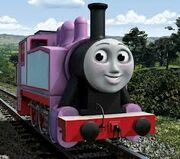Rosie the pink engine