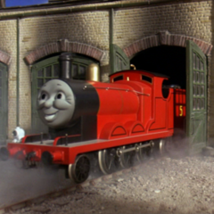 James in Thomas and the Magic Railroad