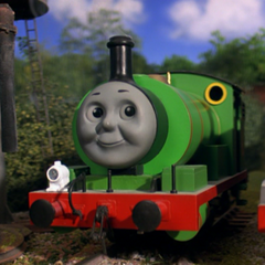 Percy in Thomas and the Magic Railroad