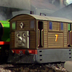 Toby in Calling All Engines!