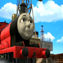 James in King of the Railway