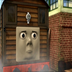 Toby in Hero of the Rails