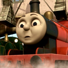 James in Day of the Diesels