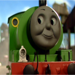 Percy in the ninth season