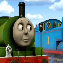 Percy in Hero of the Rails