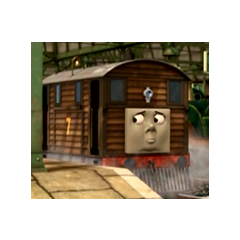 Toby in Day of the Diesels