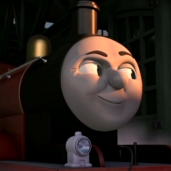 James in Sodor's Legend of the Lost Treasure