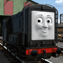 Diesel (<i>The Big Race only; as a diesel shunter</i>)