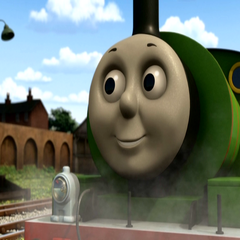 Percy in Day of the Diesels