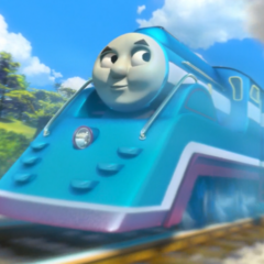 Thomas in his streamlined form