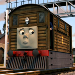 Toby in Sodor's Legend of the Lost Treasure
