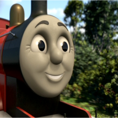 James in full CGI