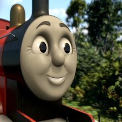 James in full CGI