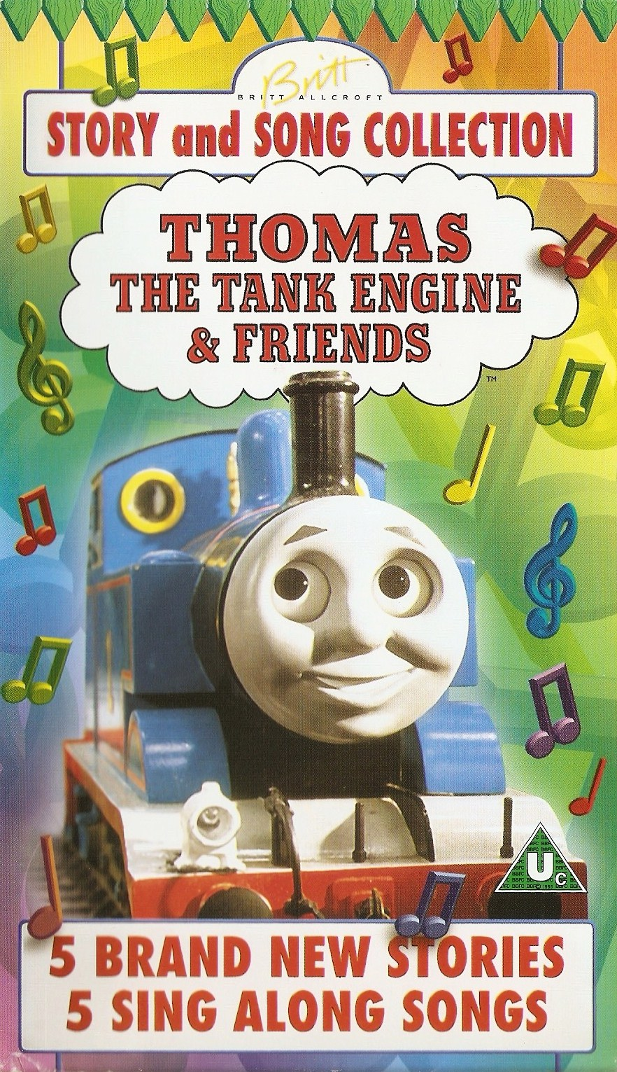 Story And Song Collection Thomas The Tank Engine Vhs