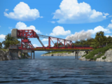 Rollbrücke von Vicarstown