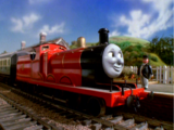 James und der Schnellzug