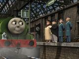 Percy will wie Gordon sein