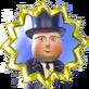 Kopf der Eisenbahn