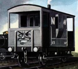 Der gehässigte Bremswagen - Railway Series