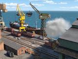 Hafen von Brendam
