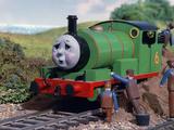Percy läuft weg