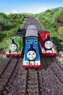 Thomas,PercyandJamesatGordon'sHill