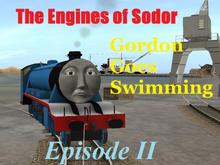 Gordon Goes Swimming