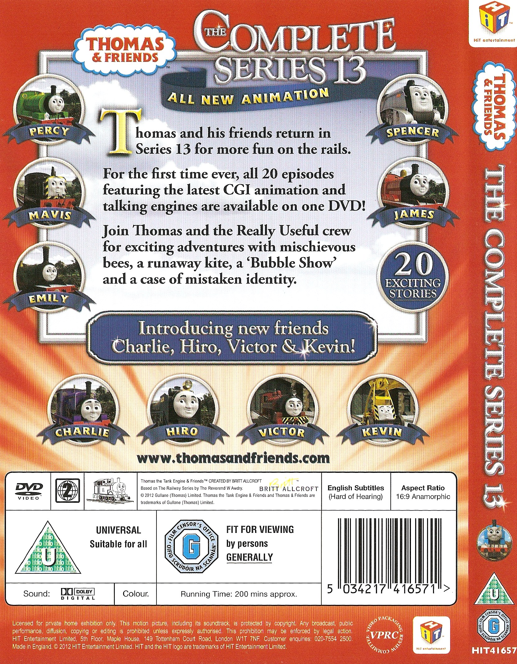 The Complete Series 13   Thomas And Friends DVDs Wiki