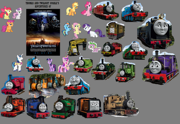 Thomas and Twilight's Adventures of Transformers
