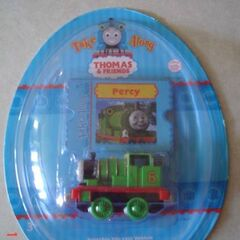 Percy in Easter Egg packaging