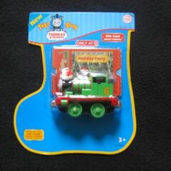 Percy in stocking packaging