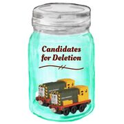 Candidates for deletion button