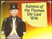 Thomas admins button