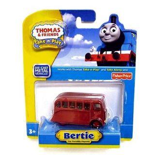 Bertie in Take 'n' Play packaging